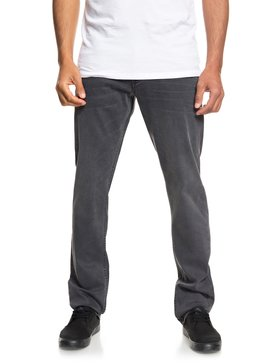 Revolver Smoked Wax - Straight Fit Jeans for Men  EQYDP03378