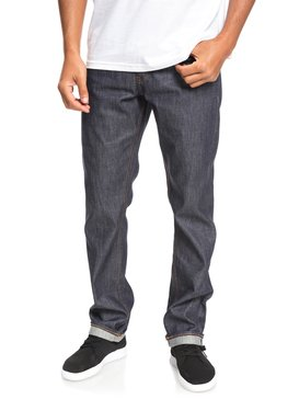 Santocha - Straight Fit Selvedge Denim Jeans for Men  EQYDP03392