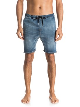 Fonic Denim Fleece - Denim Shorts  EQYDS03045