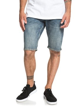 Sequel Medium Blue - Denim Shorts for Men  EQYDS03086