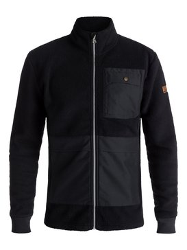 Track Hybrid Sherpa - Technical Zip-Up Fleece for Men  EQYFT03816
