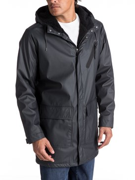 Mole Creek - Water-Repellent Longline Raincoat for Men  EQYJK03350