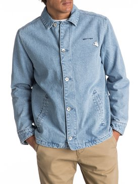 Newport Night - Denim Coach Jacket for Men  EQYJK03360