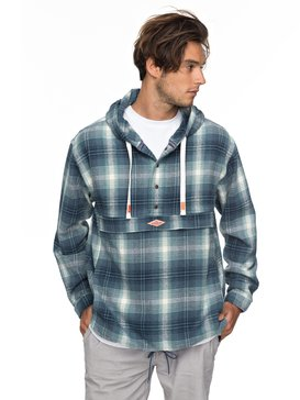 Mad Wax 2 - Flannel Hoodie for Men  EQYJK03389