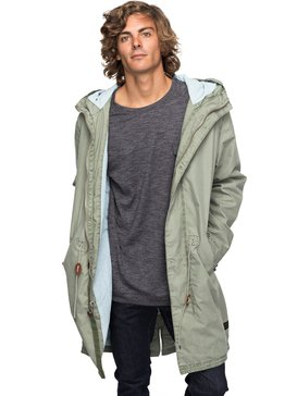 Benner - Hooded Military Parka for Men  EQYJK03390