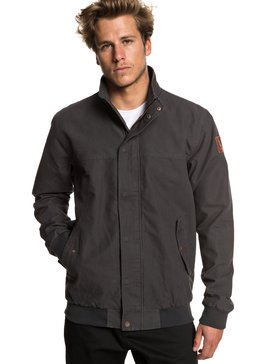 Light Brooks - Canvas Bomber Jacket for Men  EQYJK03469