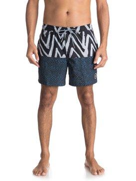 """Techtonics 17"""" - Swim Shorts for Men  EQYJV03288"""
