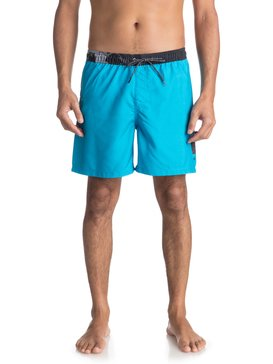 """Lava Logo 17"""" - Swim Shorts  EQYJV03309"""