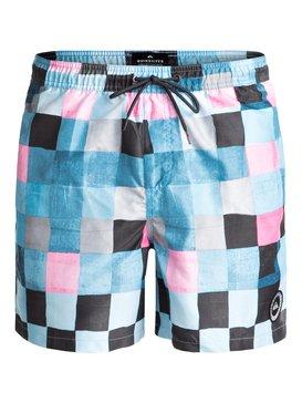 "Resin Check 15"" - Swim Shorts  EQYJV03313"