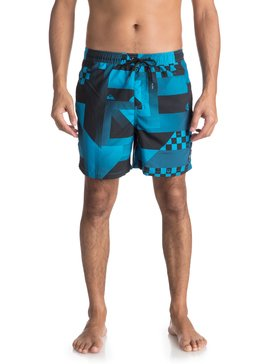"Checker 17"" - Swim Shorts  EQYJV03319"