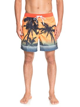 "Paradise 17"" - Swim Shorts for Men  EQYJV03399"