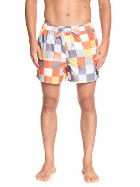 "Resin Check 15"" - Swim Shorts for Men  EQYJV03421"
