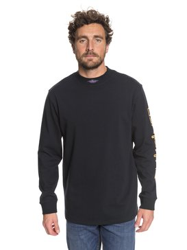 Print Mad Wax - Long Sleeve T-Shirt  EQYKT03689