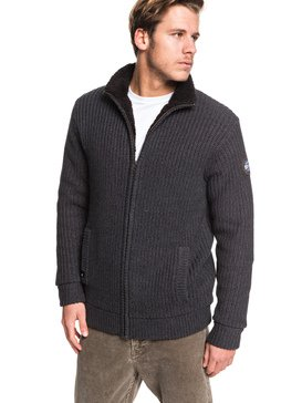 Boketto - Sherpa Lined Zip-Up Hoodie  EQYSW03224