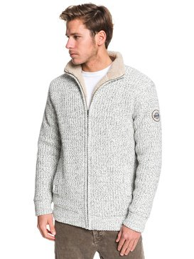Boketto - Sherpa Lined Zip-Up Hoodie for Men  EQYSW03224