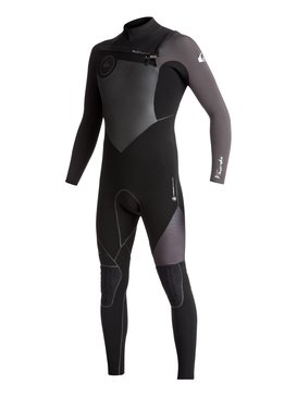 4/3mm Highline Plus - Chest Zip Wetsuit for Men  EQYW103047