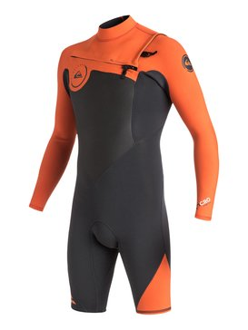 Syncro 2/2mm - Chest Zip Long Sleeve Springsuit  EQYW403002