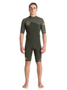 2/2mm Syncro Series - Short Sleeve Back Zip FLT Springsuit  EQYW503006