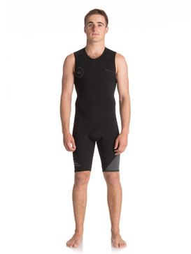 2mm Syncro Series - Short John Back Zip FLT Springsuit for Men  EQYW603001