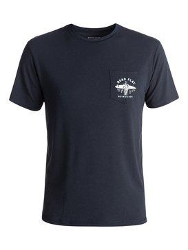Bubble Amphibian - Amphibian Short Sleeve Rash Vest for Men  EQYWR03067