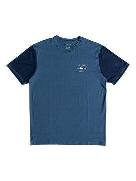 Colour Blocked Surf - Amphibian UPF 50 Surf T-Shirt for Men  EQYWR03089