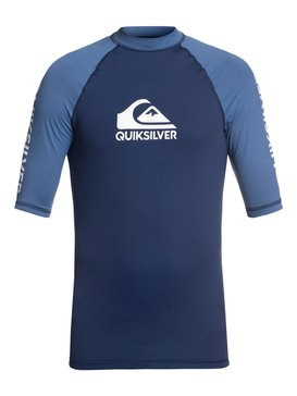 On Tour - Short Sleeve UPF 50 Rash Vest for Men  EQYWR03110