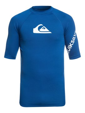 All Time - Short Sleeve UPF 50 Rash Vest for Men  EQYWR03136