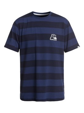 Stripe Sea - Short Sleeve UPF 50 Surf T-Shirt for Men  EQYWR03150
