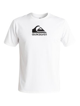 Solid Streak - Short Sleeve UPF 50 Surf T-Shirt for Men  EQYWR03159
