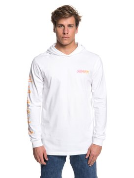 Rough Right - Long Sleeve Hooded T-Shirt for Men  EQYZT05021