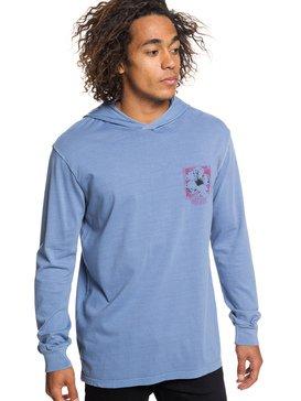 Sour Flower - Long Sleeve Hooded Top for Men  EQYZT05254