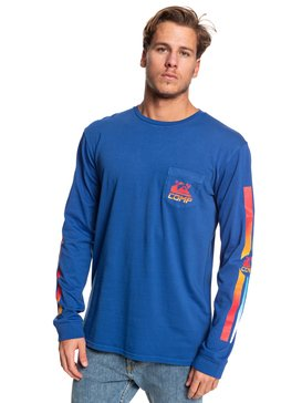 St Comp Factory - Long Sleeve Pocket T-Shirt for Men  EQYZT05342