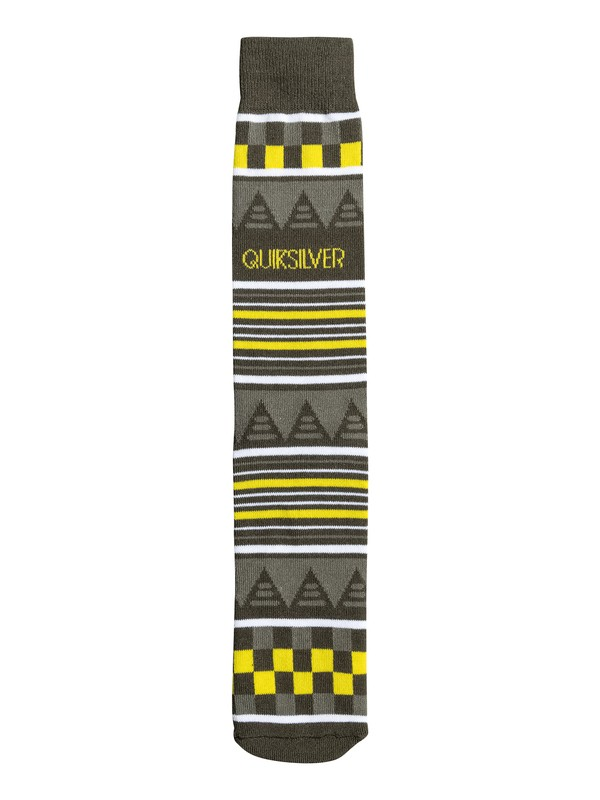 0 Checks and Stripes Crew Socks  06354A Quiksilver