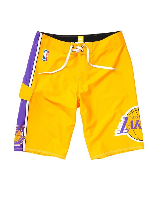 0 Boys 8-16 Lakers NBA Boardshorts  201054 Quiksilver