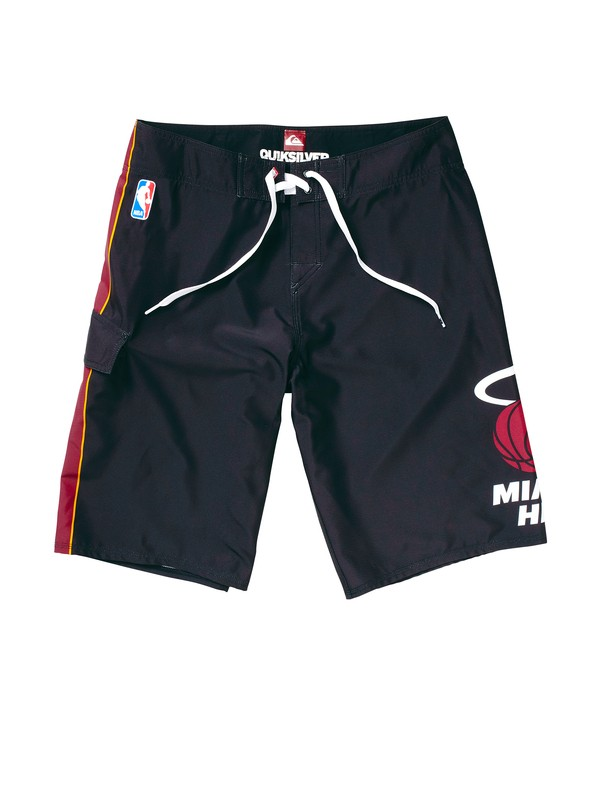 0 Boys 8-16 Heat NBA Boardshorts  201055 Quiksilver