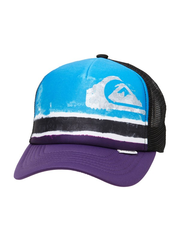 0 Boys 8-16 Boards Trucker Hat  249C12 Quiksilver