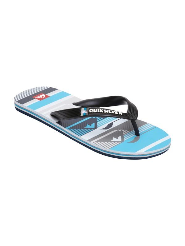 0 Boys 8-16 Molokai Art Series Sandal  257107 Quiksilver