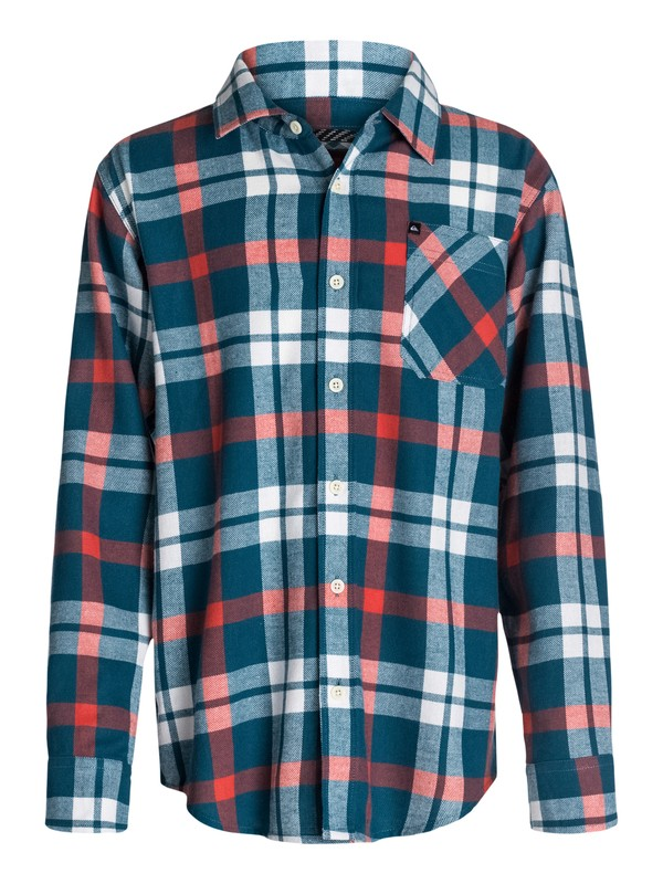 0 Boys 2-4 Viking Flannel Shirt  40444093 Quiksilver