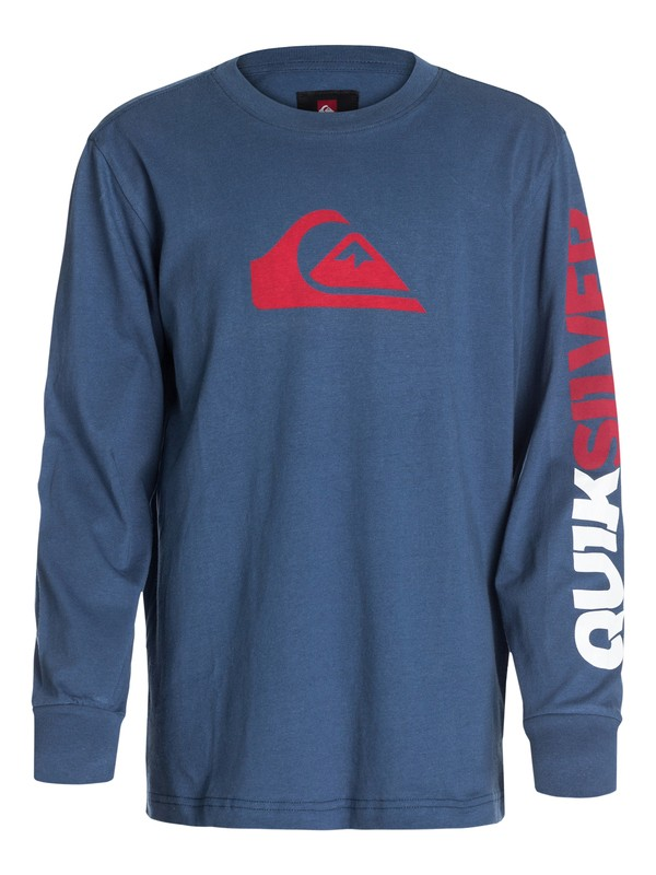 0 Boys 4-7 Mountain And Wave Long Sleeve T-Shirt  40454003 Quiksilver