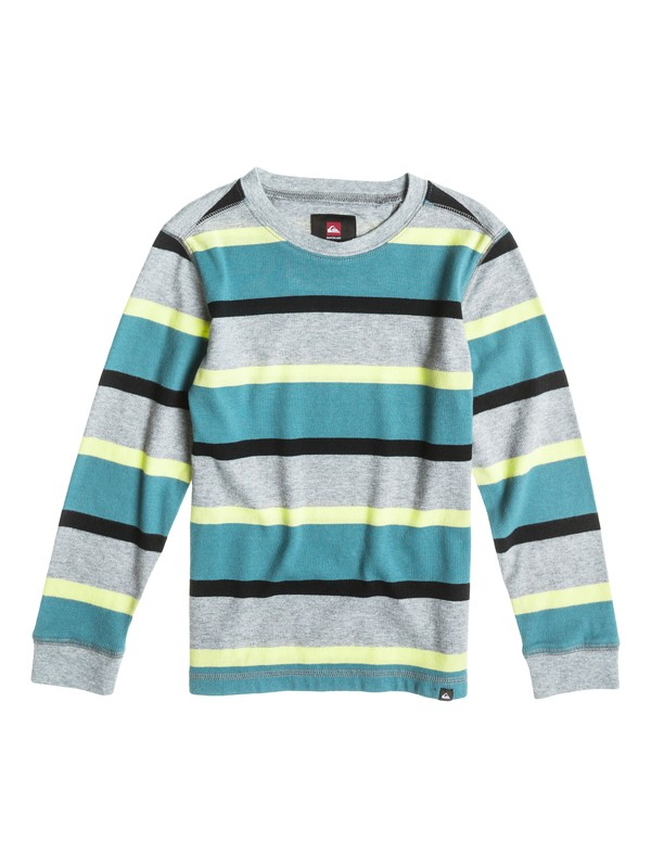 0 Boys 4-7 Snit Stripe Sweatshirt  40454017 Quiksilver