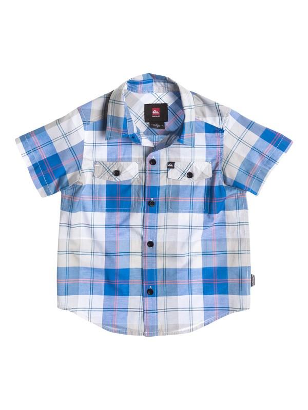 0 Boys 4-7 Camp Plaid Shirt  40454035 Quiksilver
