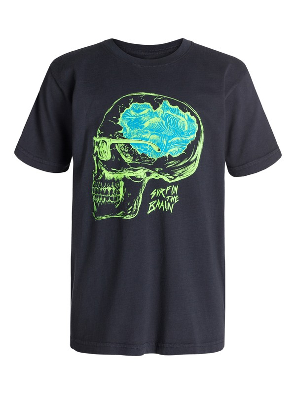 0 Boys 4-7 Surf On Brain T-Shirt  40454111 Quiksilver