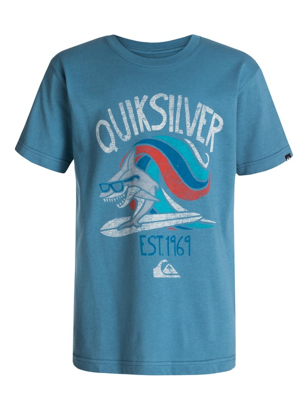 0 Boys 4-7 Sharksurf T-Shirt  40454133 Quiksilver