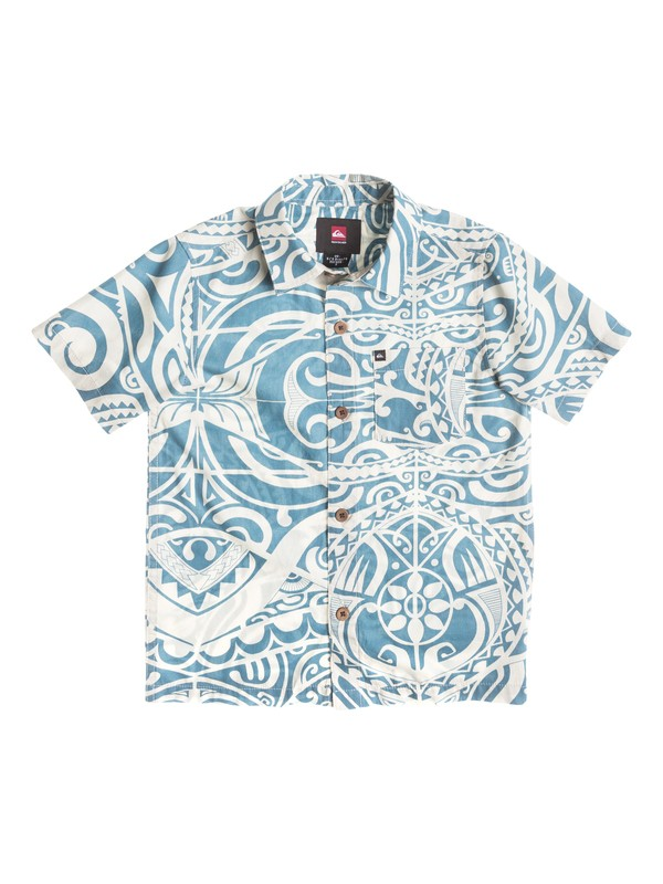 0 Boys  4-7 Pua Short Sleeve Shirt  40454143 Quiksilver