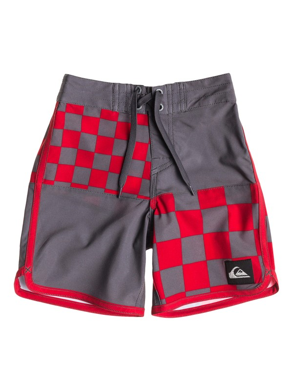 0 Boys 4-7 Block Head Boardshorts  40455005 Quiksilver