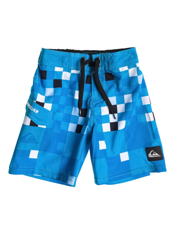 0 Boys 4-7 Check Block Boardshorts  40455007 Quiksilver
