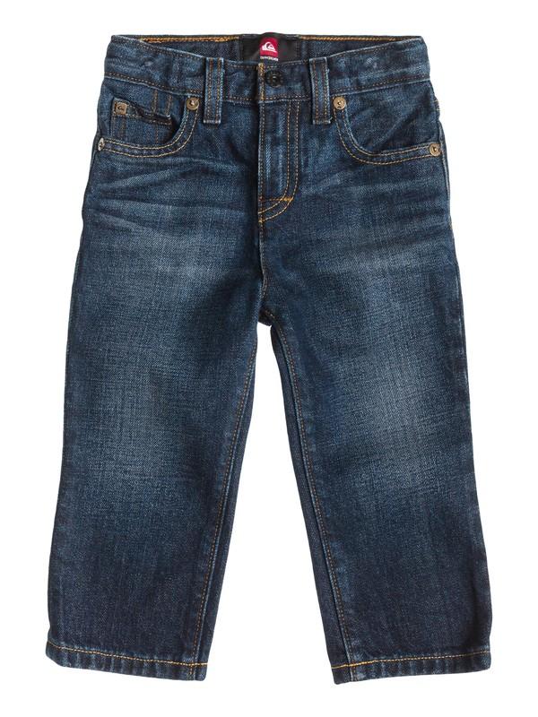 0 Jeans de Corte Recto Revolver - Niños 4 -7  40455024 Quiksilver