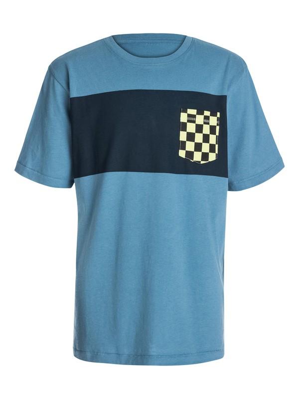 0 Boys 8-16 Pattern Pocket T-Shirt  40464025 Quiksilver