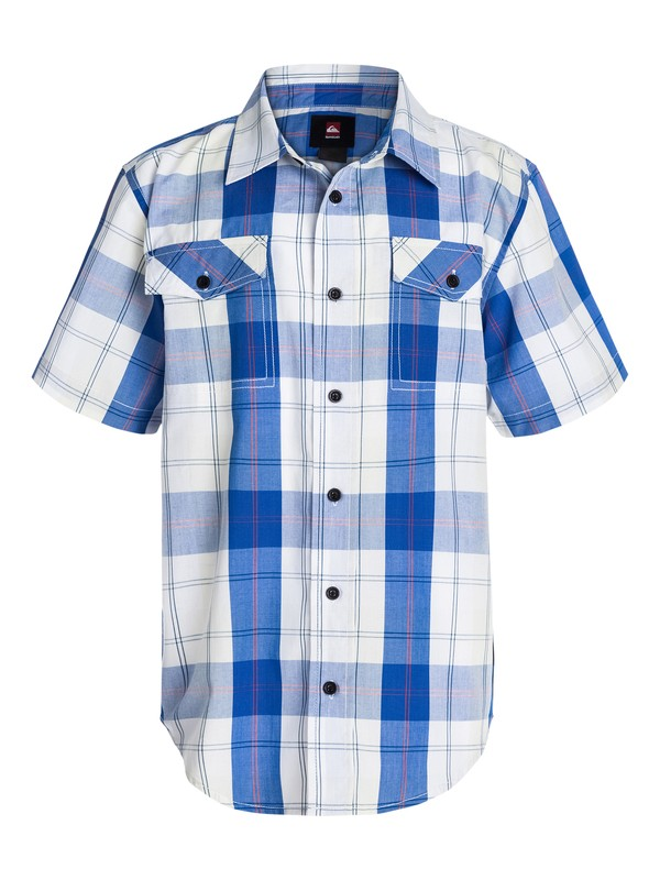 0 Boys 8-16 Camp Plaid Shirt  40464035 Quiksilver