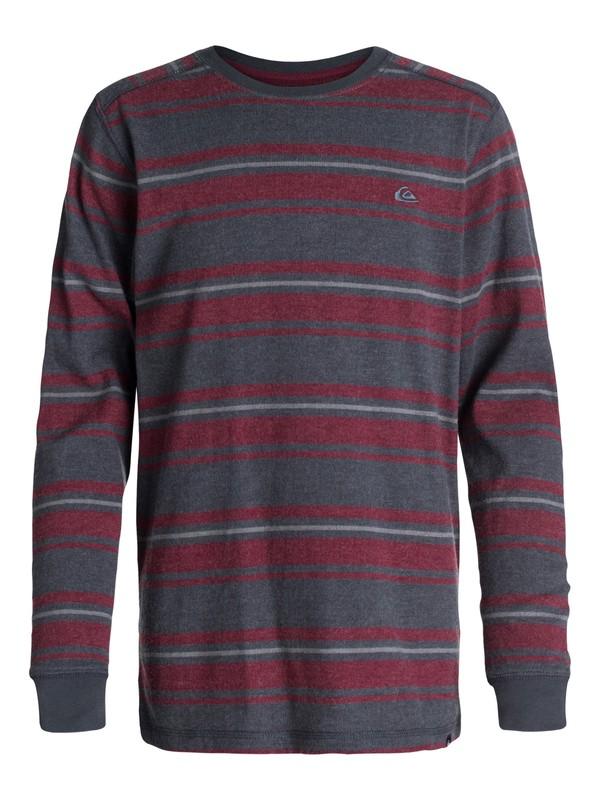 0 Boys 8-16 Snit Stripe Sweater  40464082 Quiksilver